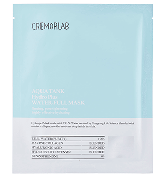 Cremorlab Hydro Plus Aqua Tank Water-full Mask