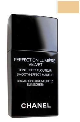 chanel perfection lumiere velvet makeup spf 15 beige no 30. Black Bedroom Furniture Sets. Home Design Ideas