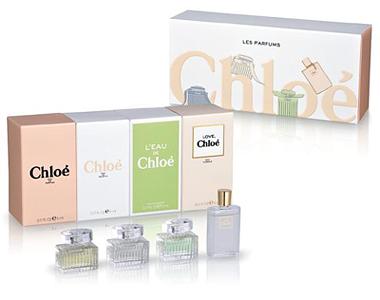 Chloe Les Parfums Miniture Fragrance Set