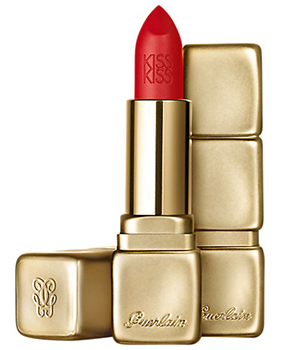 Guerlain Kiss Kiss Matte Lipstick - Zest Orange No. M347