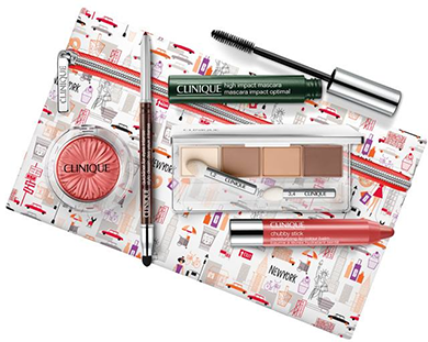 Clinique New York Travel Box Makeup Set