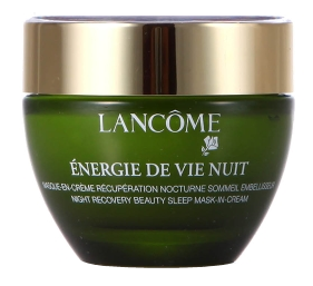 Lancome Energie De Vie Nuit Night Recovery Beauty Sleep Mask-In-Cream
