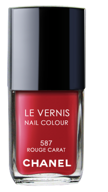 Chanel Le Vernis Nail Color Colour Polish Rouge Carat No. 587