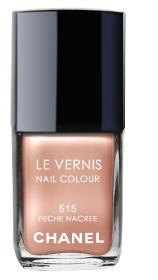 Chanel Le Vernis Nail Color Colour Polish Peche Nacree No. 515