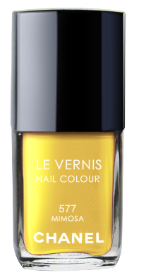 Chanel Le Vernis Nail Color Colour Polish Mimosa No. 577