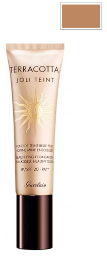Guerlain Terracotta Joli Teint Healthy Glow Fluid Foundation SPF 20 - Natural