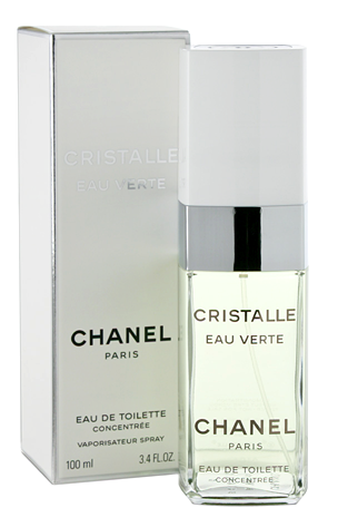 Chanel Cristalle Eau Verte Eau de Toilette Concentrate For Women 3.3 FL OZ 100 ML