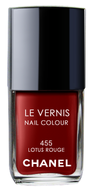 Chanel Le Vernis Nail Color Colour Polish Lotus Rouge No. 455