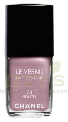 Chanel Le Vernis Nail Color Colour Violette No 73 Limited Edition