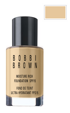 Bobbi Brown Moisture Rich Foundation SPF 15 - Natural No. 4