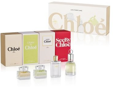 Chloe Miniature Fragrance Coffret