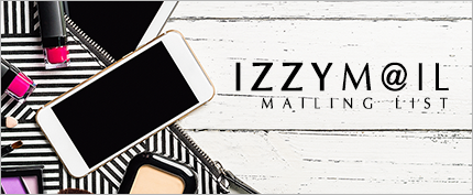 Join Izzy's Mailing List